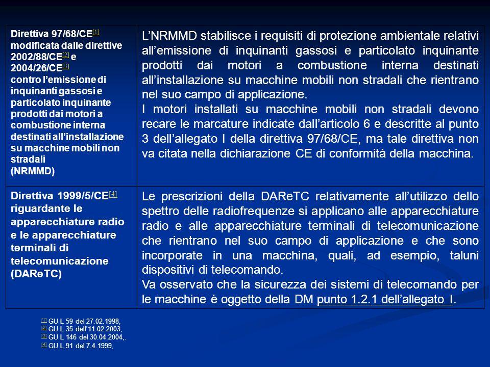 Direttiva 97/68/CE[1] modificata dalle direttive 2002/88/CE[2] e 2004/26/CE[3]